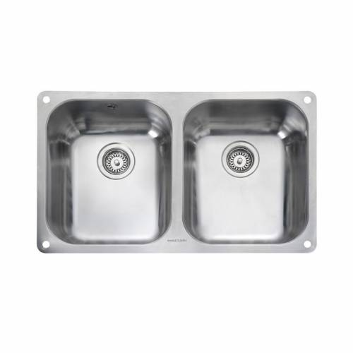 ATLANTIC CLASSIC 3535U Undermount Kitchen Sink