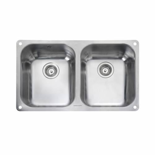 ATLANTIC CLASSIC 3535U Undermount Kitchen Sink