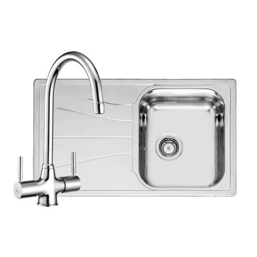 DIPLOMAT ECO 10 Kitchen Sink with FREE Reginox Thames Tap