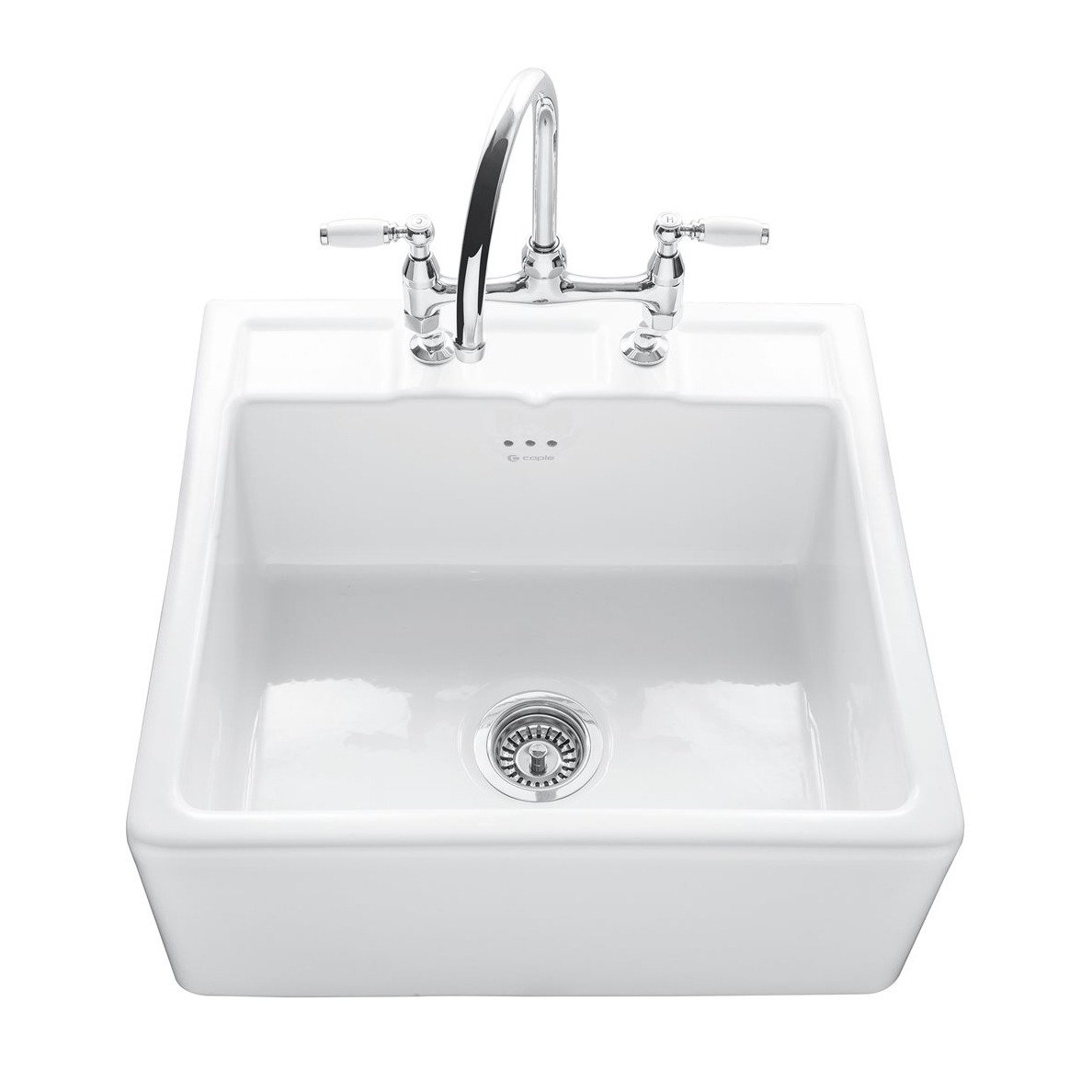 Caple Butler 600 Kitchen Sink With Tap Ledge Sinks Taps Com