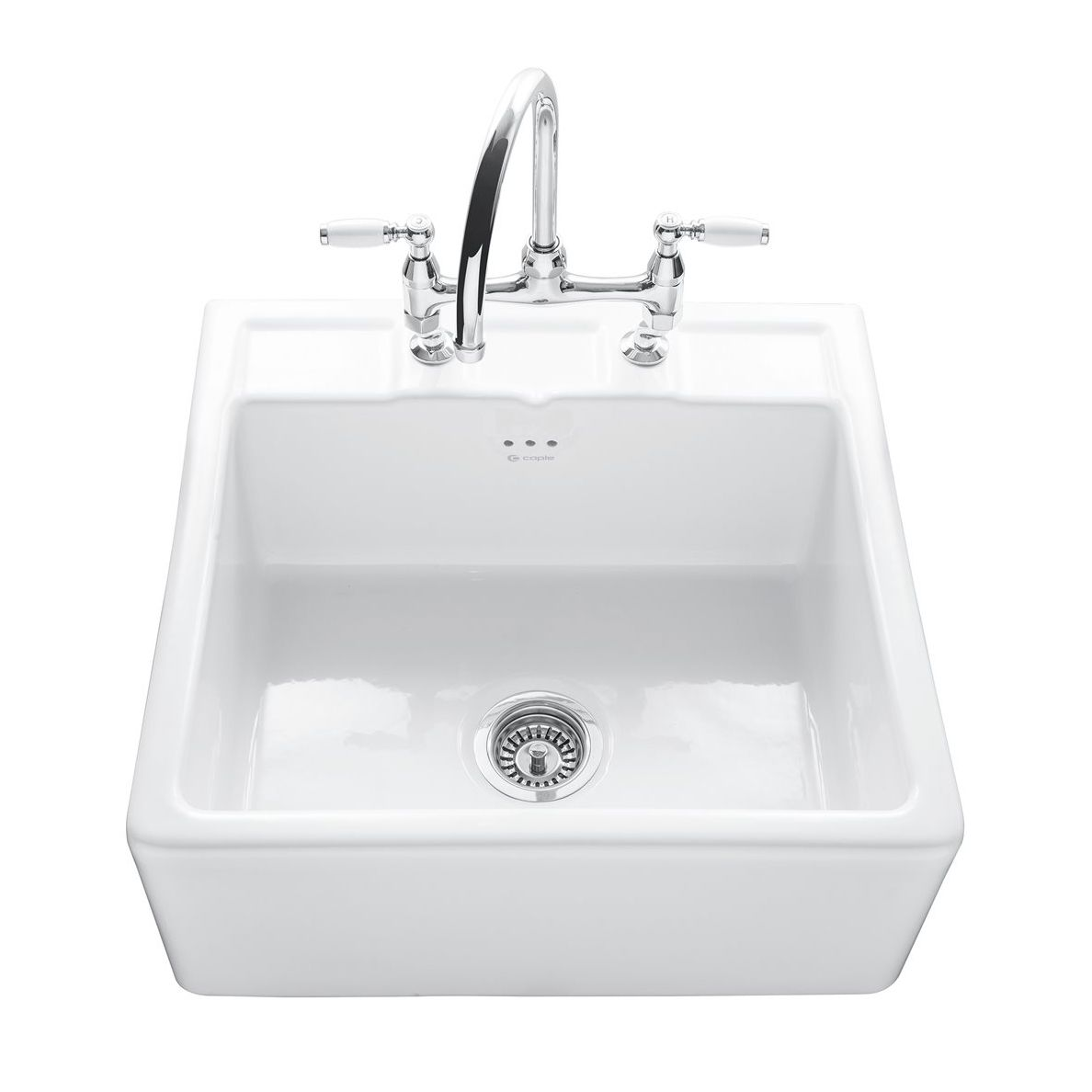 Caple BUTLER 600 Kitchen Sink with Tap Ledge - Sinks-Taps.com