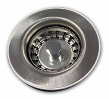 Mini Basket Strainer Waste - Chrome