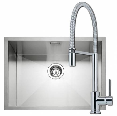 Zero 55 Kitchen Sink with Navitas Tap Pack