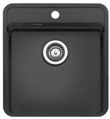 Regi-Color OHIO 40x40 with Tapwing Single Bowl Kitchen Sink - Midnight Sky