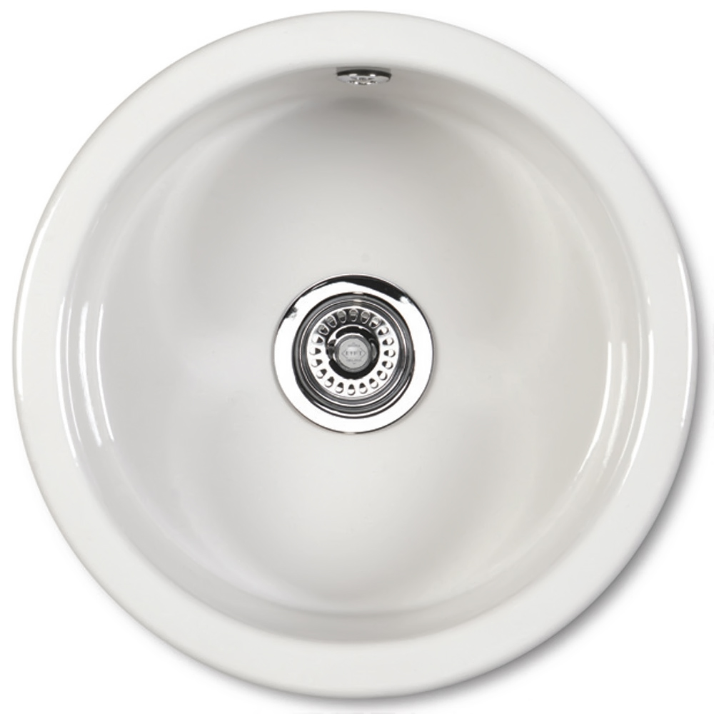 round ceramic kitchen sink shaws classic sink sinks taps 4884