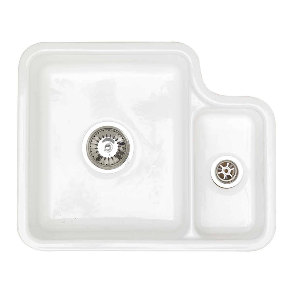 Astracast Lincoln 1 5 Bowl Undermount Ceramic Kitchen Sink