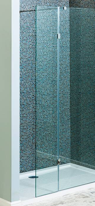 700mm Wetroom Panel