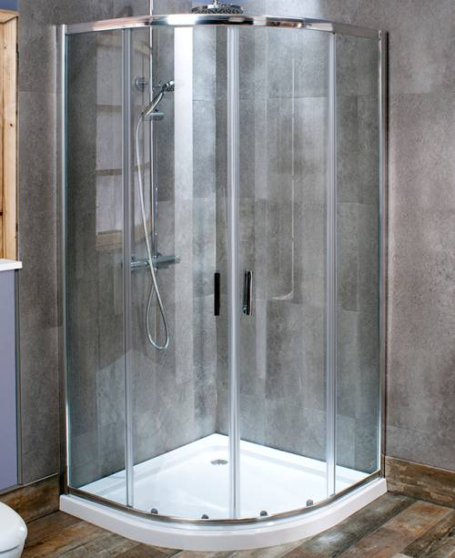 1000 x 800 Quadrant Shower Enclosure