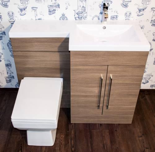 L-Shaped Furniture - Medium Oak