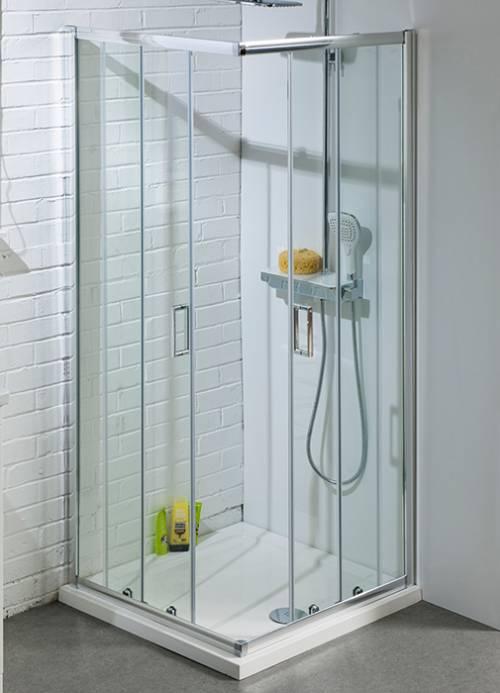 900mm Corner Entry Shower Enclosure