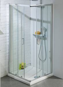 900mm Corner Entry Shower Enclosure
