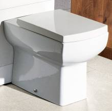 Daisy Lou Back To Wall Toilet with Seat