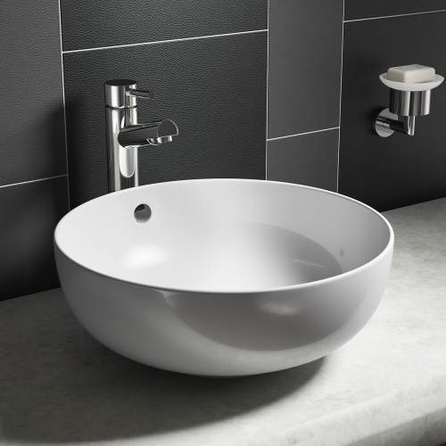 Round Counter Top Vessel Basin