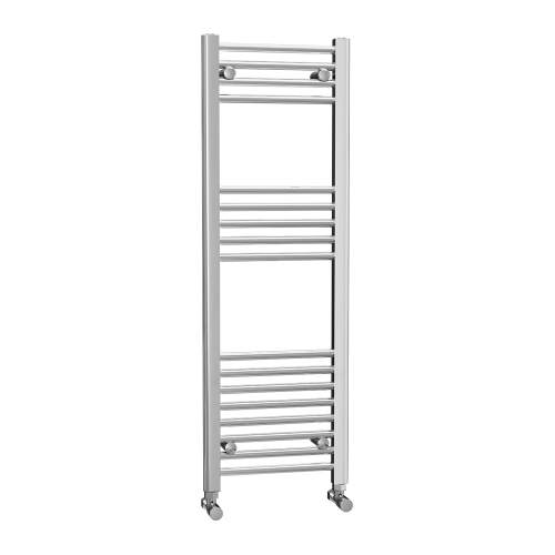 400 x 1200 Chrome Ladder Radiator