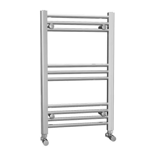 500 x 800 Chrome Ladder Radiator