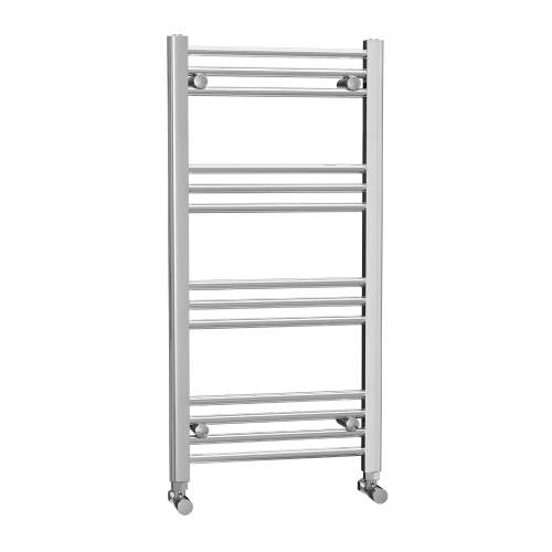 500 x 1000 Chrome Ladder Radiator