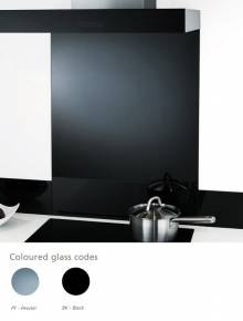 1000mm Coloured Glass Splashback Panel