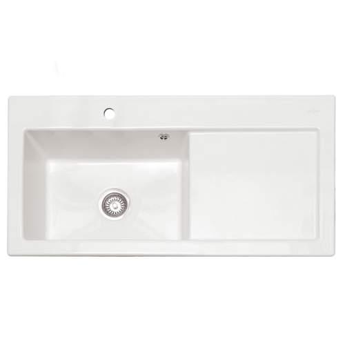 AVALON 100 Ceramic Inset Kitchen Sink