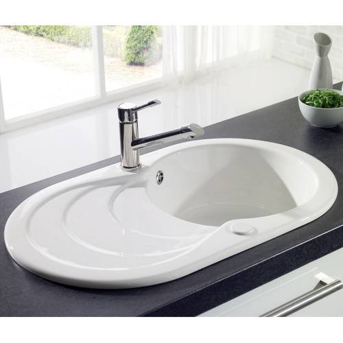CASCADE 1.0 Bowl Ceramic Kitchen Sink