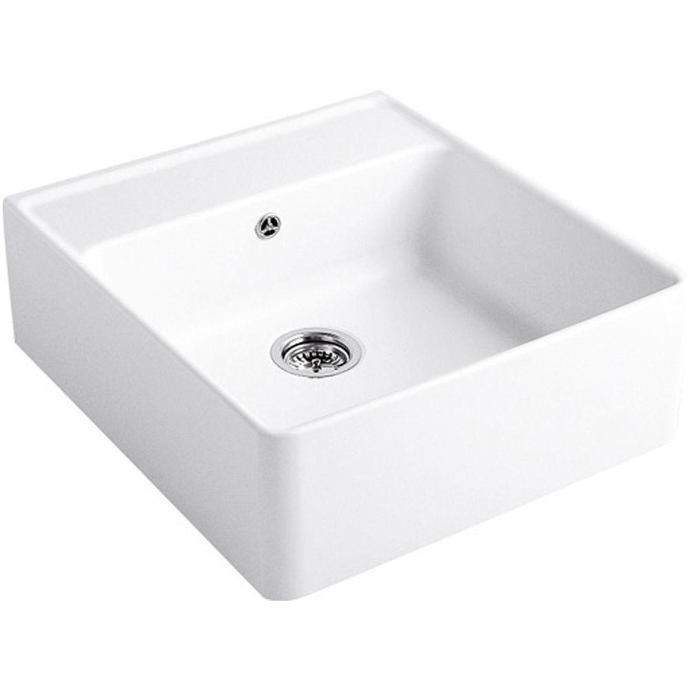 Villeroy boch butler 60 belfast ceramic sink sinks - Butler kitchen sinks ...
