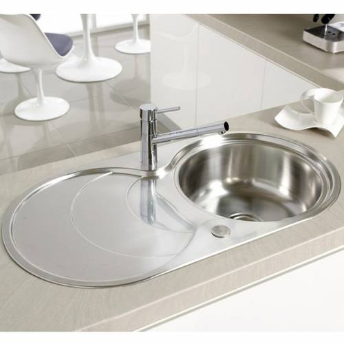 CASCADE 1.0 Stainless Steel Kitchen Sink FREE ACCESSORIES