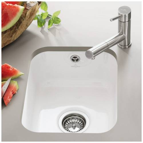 CISTERNA 45 Undermount Kitchen Sink - Ceramic Line