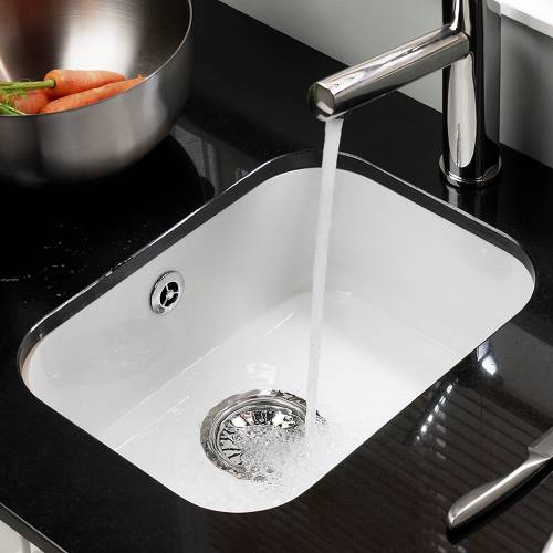 LINCOLN Undermount Ceramic Kitchen Sink 300x400