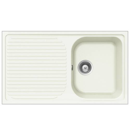 LITHOS D100 1.0 Bowl Kitchen Sink With Drainer