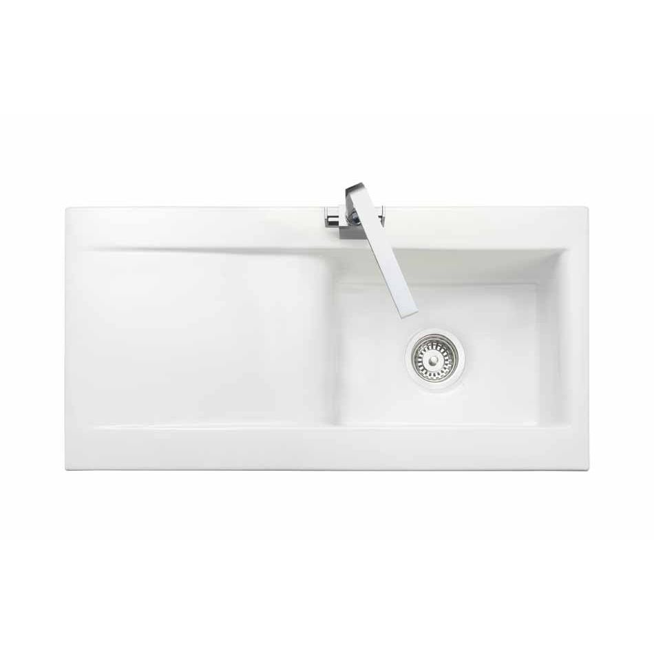 Rangemaster Kitchen Sinks Rangemaster nevada 10 bowl ceramic sink sinks taps nevada 10 bowl ceramic kitchen sink workwithnaturefo