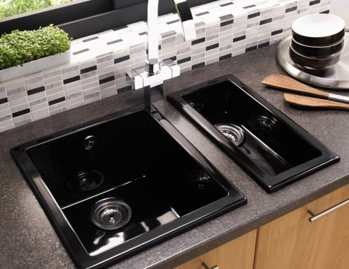 ONYX 1.0 Bowl Ceramic Kitchen Sink