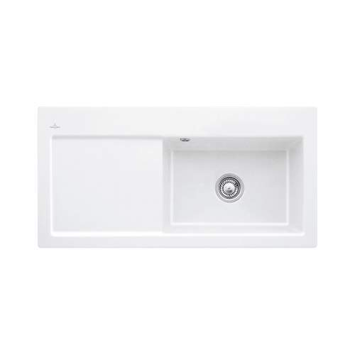 SUBWAY 60 XL Single Bowl Kitchen Sink - Premium Line