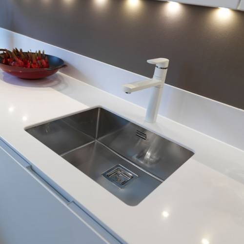 TEXAS 50x40 Large Bowl Kitchen Sink - RF802S