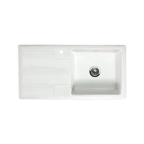 VECCHIO G4 1.0 Bowl Kitchen Sink with Davenport Tap