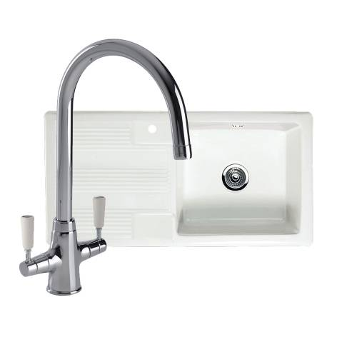 VECCHIO G4 1.0 Bowl Kitchen Sink with FREE NENBRO Tap