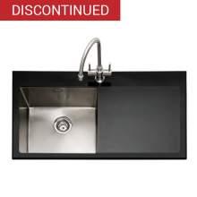 VITREA 100 Glass Inset Kitchen Sink