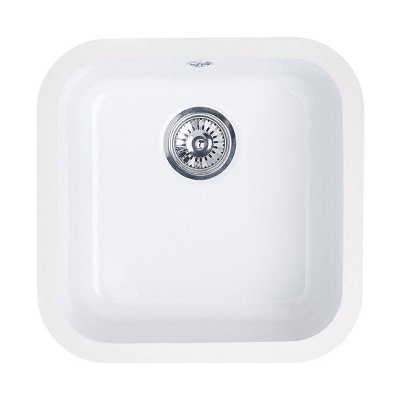 LINCOLN Ceramic Kitchen Sink 400x400 - Sinks-Taps.com