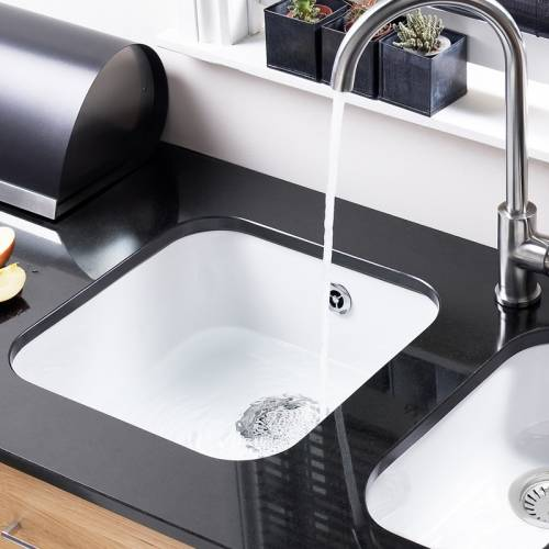 LINCOLN Undermount Ceramic Kitchen Sink 400x400