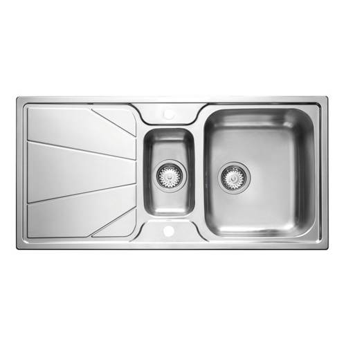 KORONA 1.5 Stainless Steel Kitchen Sink with FREE ACCESSORIES
