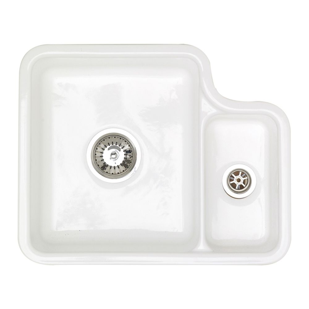 LINCOLN LIN15W - 1.5 Undermount Ceramic Sink - Sinks-Taps.com