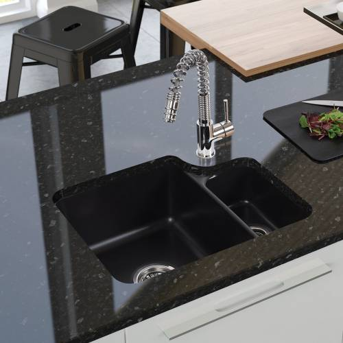 LINCOLN LIN15W - 1.5 Undermount Ceramic Kitchen Sink