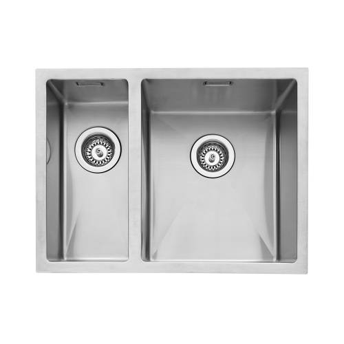 Mode 150 Inset 1.5 Left Handed Small Bowl Kitchen Sink