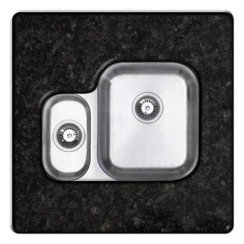 RUBUS 150UH Undermount Kitchen Sink