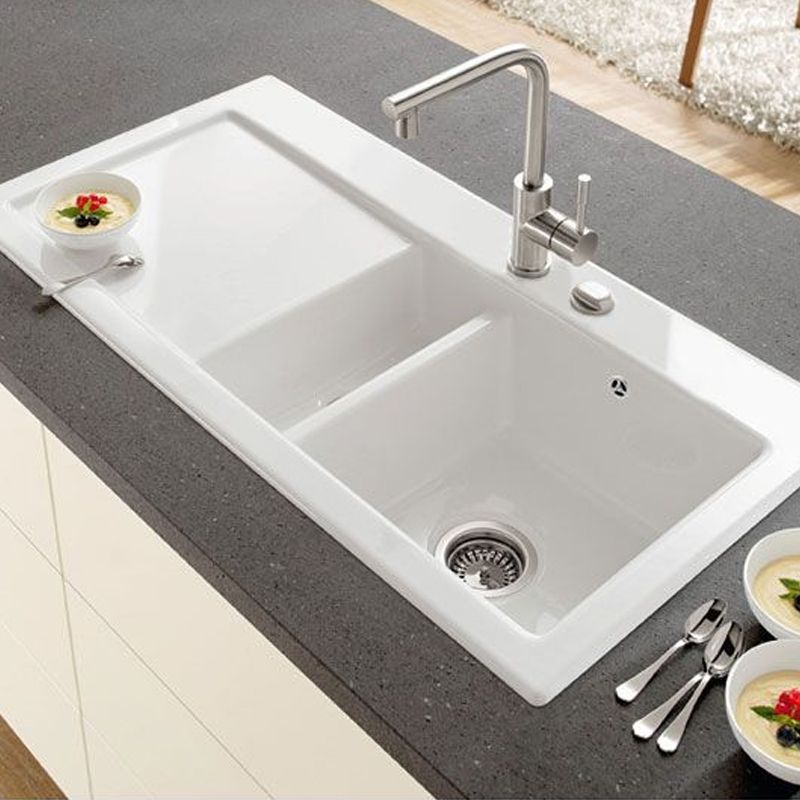 Villeroy Amp Boch Subway 60 Sink Ceramic Line Sinks Taps Com
