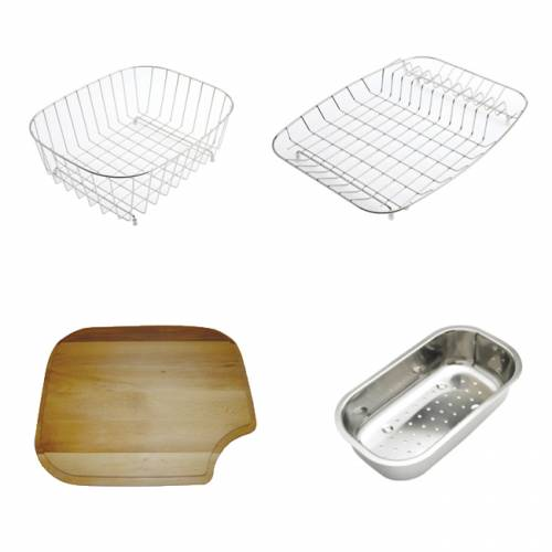 TOPAZ 1.5 Stainless Steel Kitchen Sink with FREE ACCESSORIES
