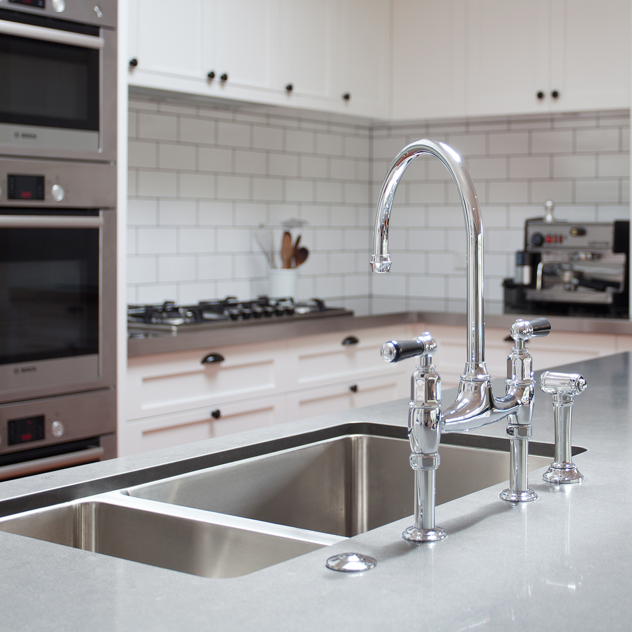 Perrin & Rowe IONIAN 4173 Tap with Rinse - Sinks-Taps.com
