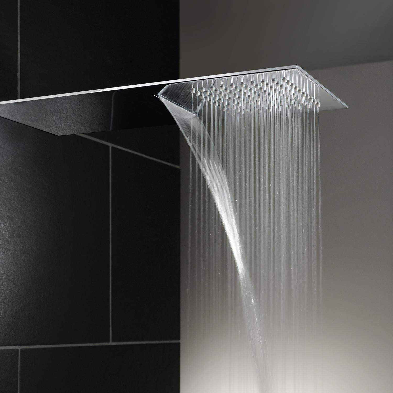 Abode Ab2463 Storm Waterfall Showerhead Sinks