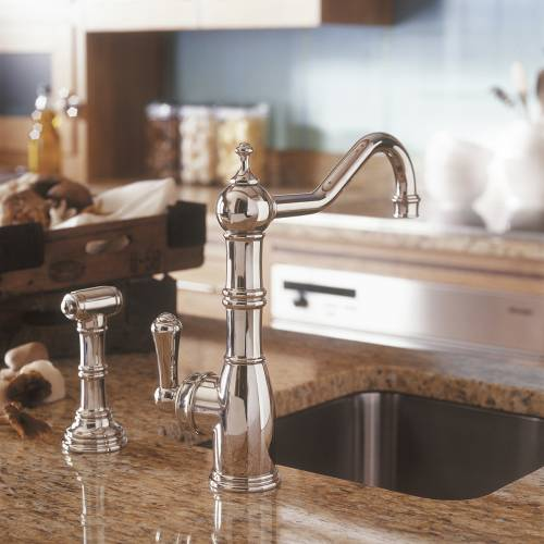 4746 AQUITAINE Kitchen Tap with Rinse