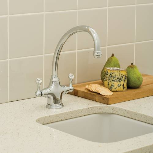 4320 ETRUSCAN Monobloc Mixer Kitchen Tap
