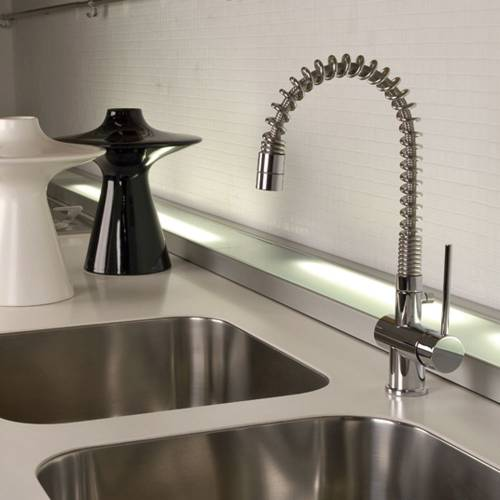 OXYGEN Monobloc Kitchen Tap with Flexi Spout
