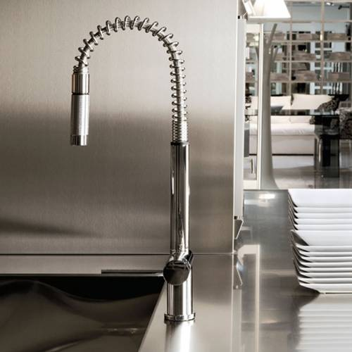 OXYGEN Monobloc Kitchen Tap with Pull-Out Tap